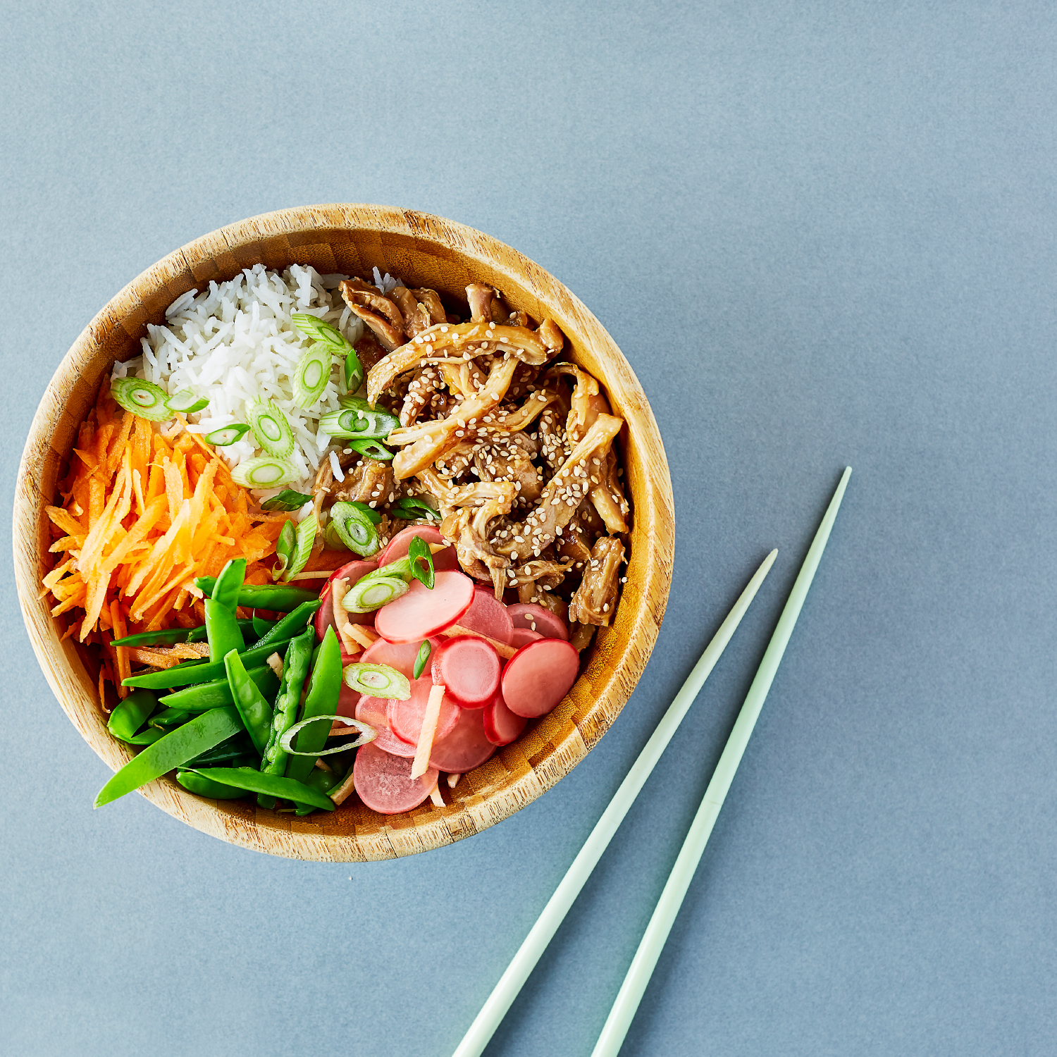 Pulled Chicken Teriyaki Donburi Bowl Recipe Gousto