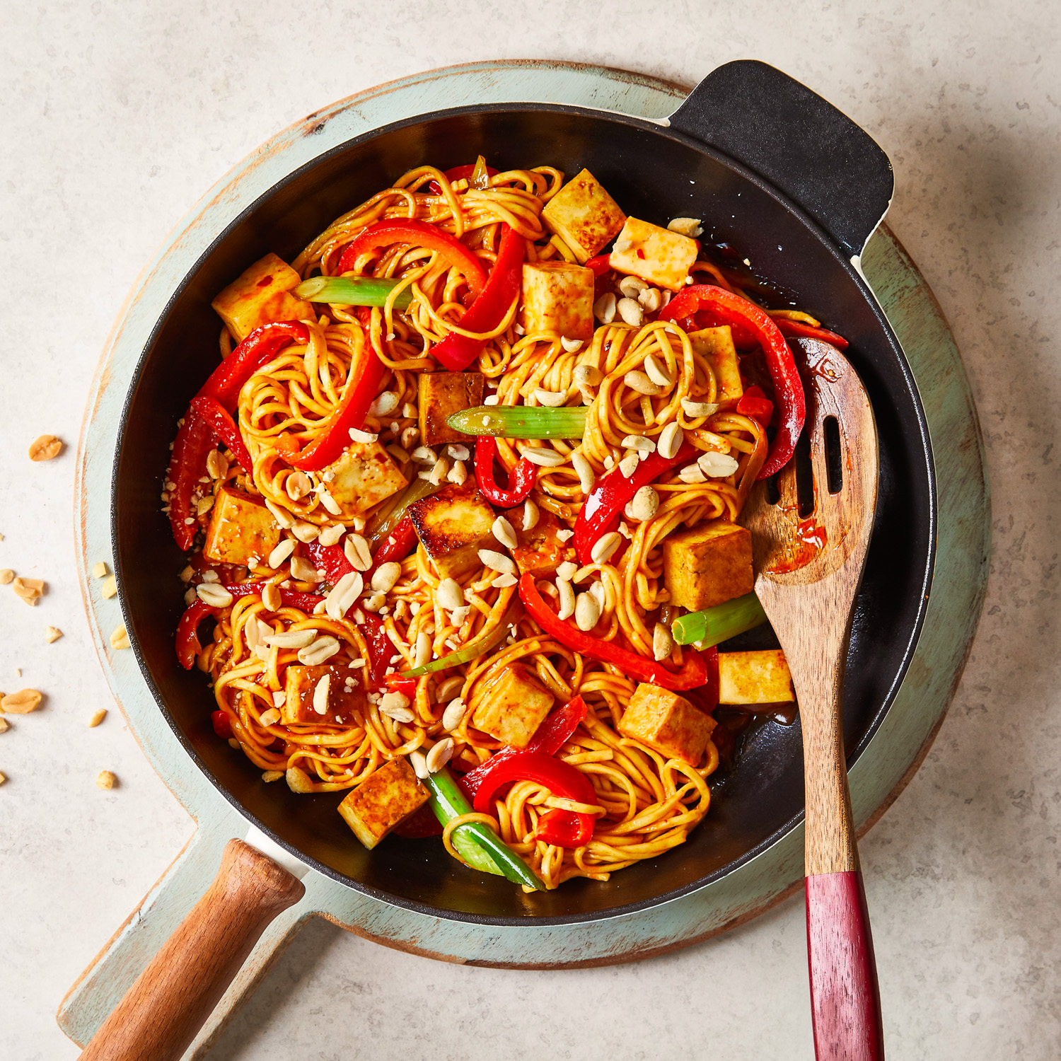 10 Min Spicy Chilli Paneer Noodles Recipe Gousto