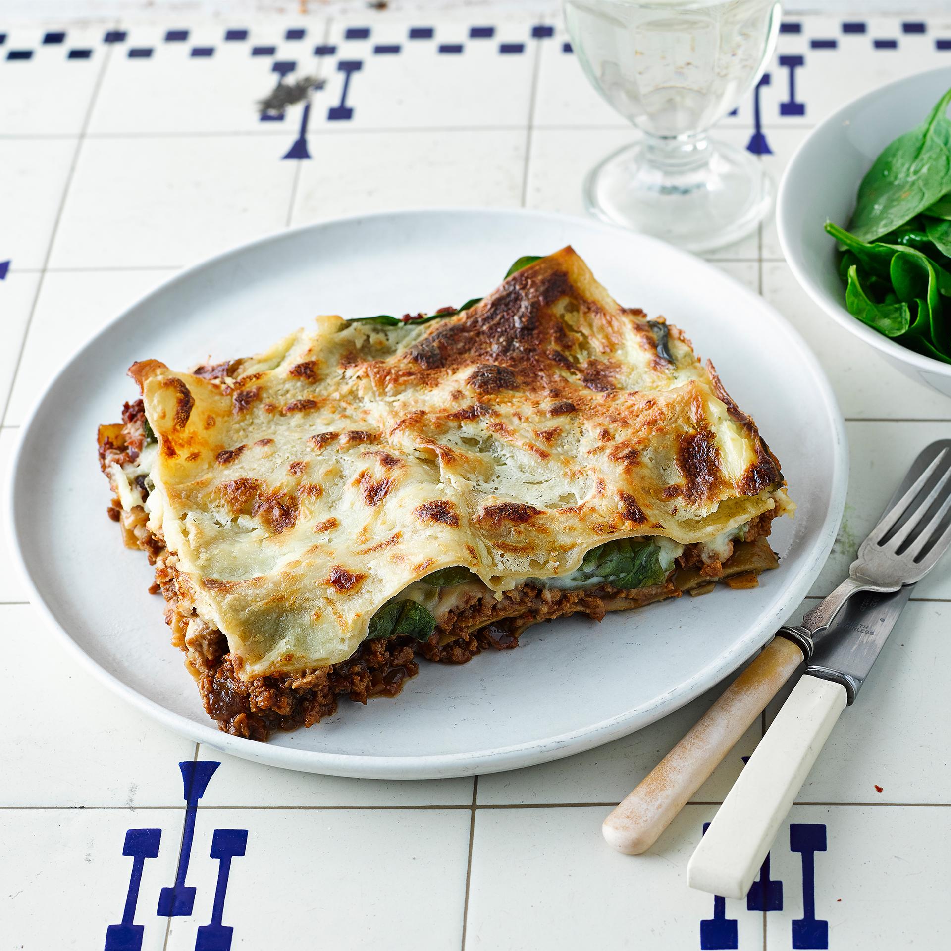 Spinach & Veggie Mince Lasagne Recipe | Gousto
