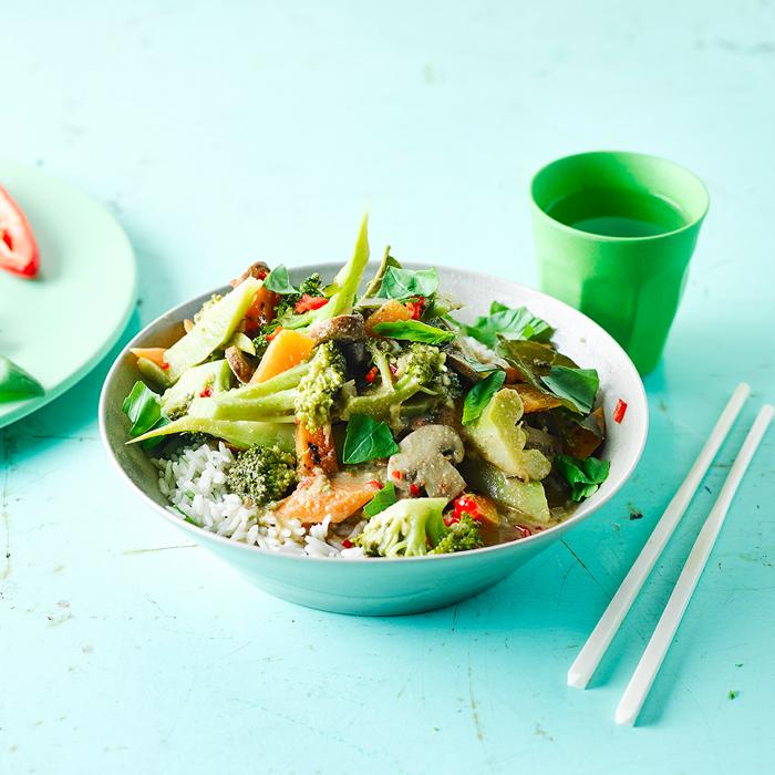 Thai Green Vegetable Curry Recipe | Gousto