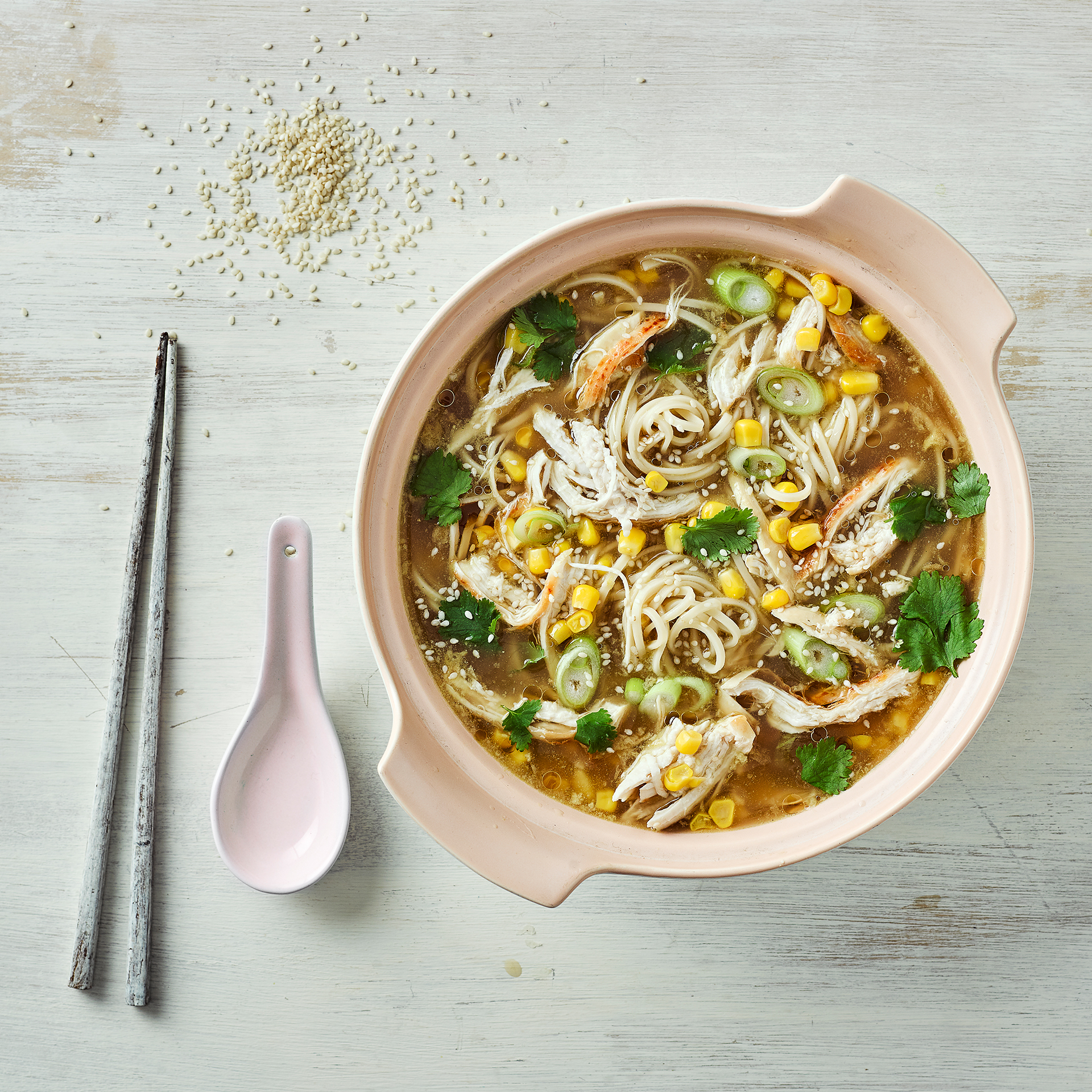 Chinese chicken sweetcorn soup recipe gousto forumfinder Choice Image
