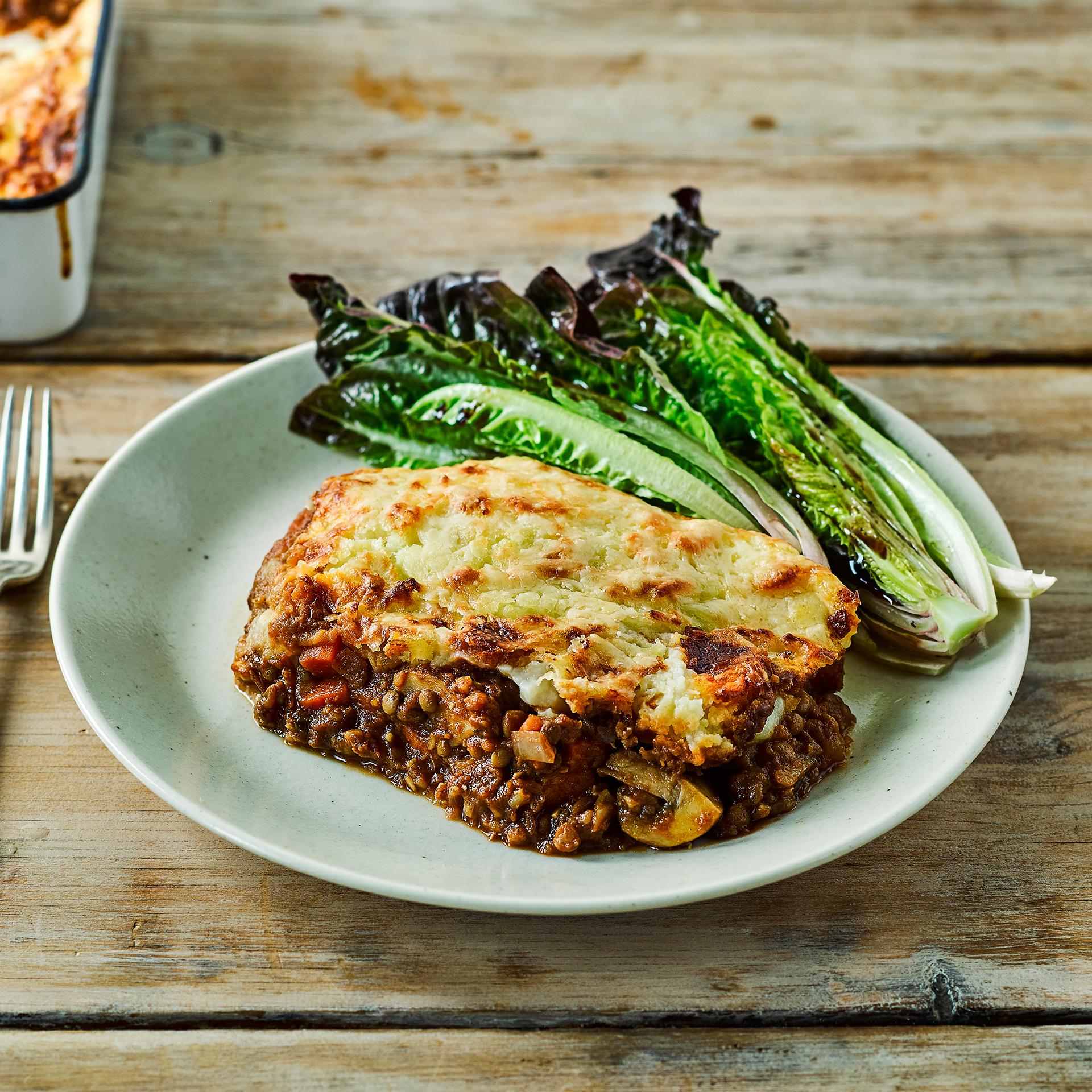 Veggie Lentil Pie Recipe | Gousto