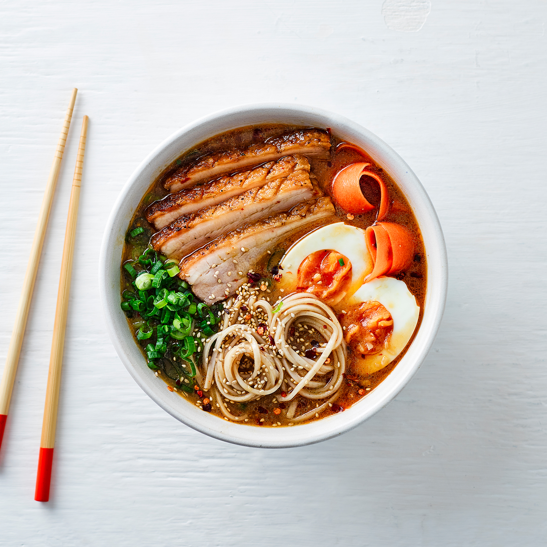 Crispy Pork Belly Amp Noodle Ramen Recipe Gousto