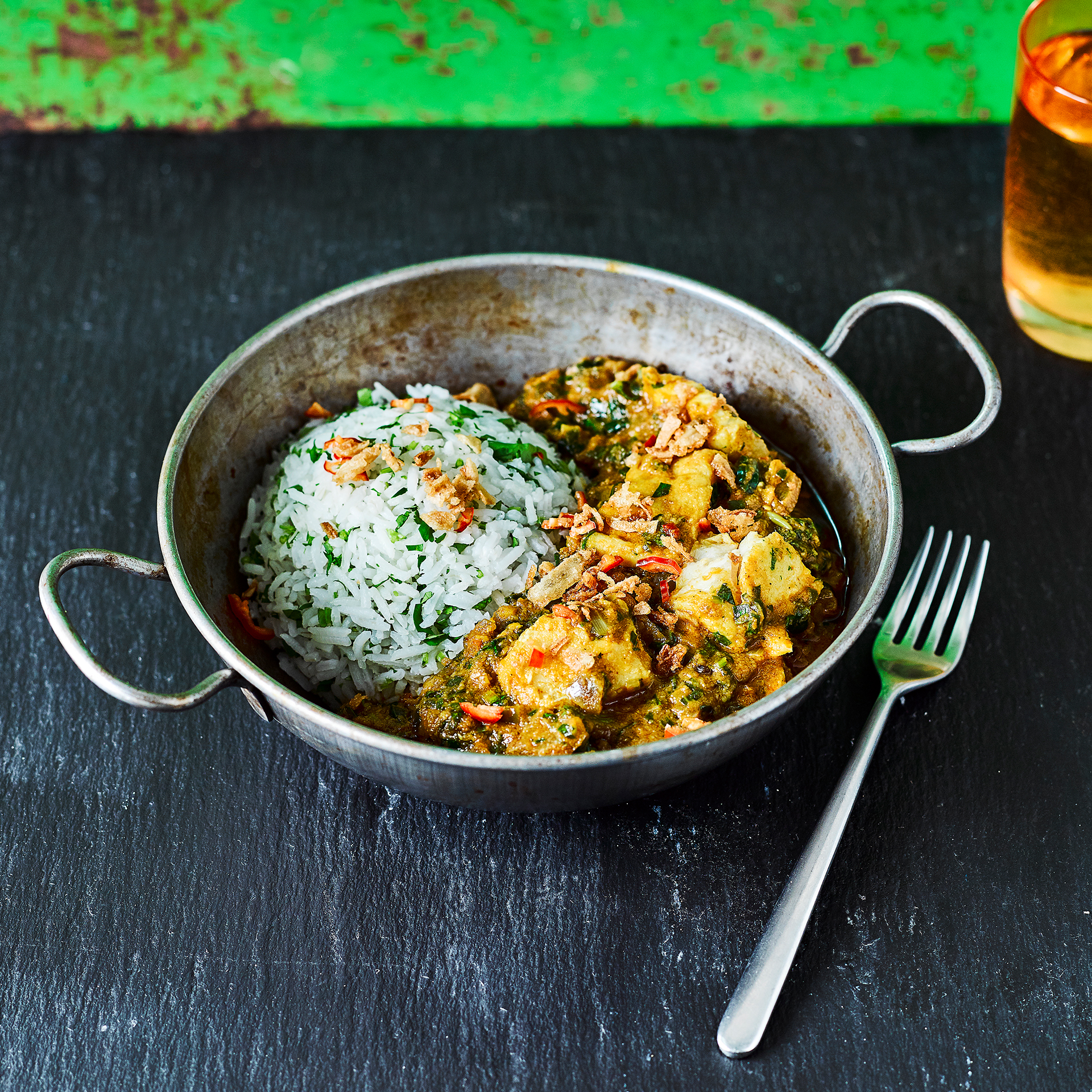 Goan fish curry with spinach recipe gousto for Goan fish curry recipe