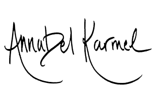 Annabel Karmel 's signature